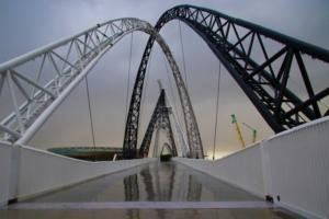 zipline matagarup bridge